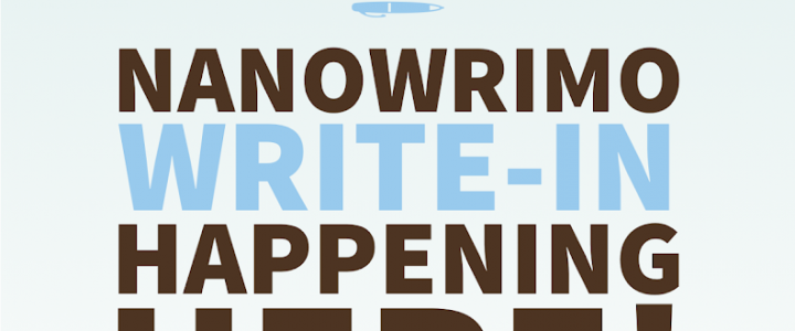 Come write at Locus for NaNoWriMo on Sundays in November!