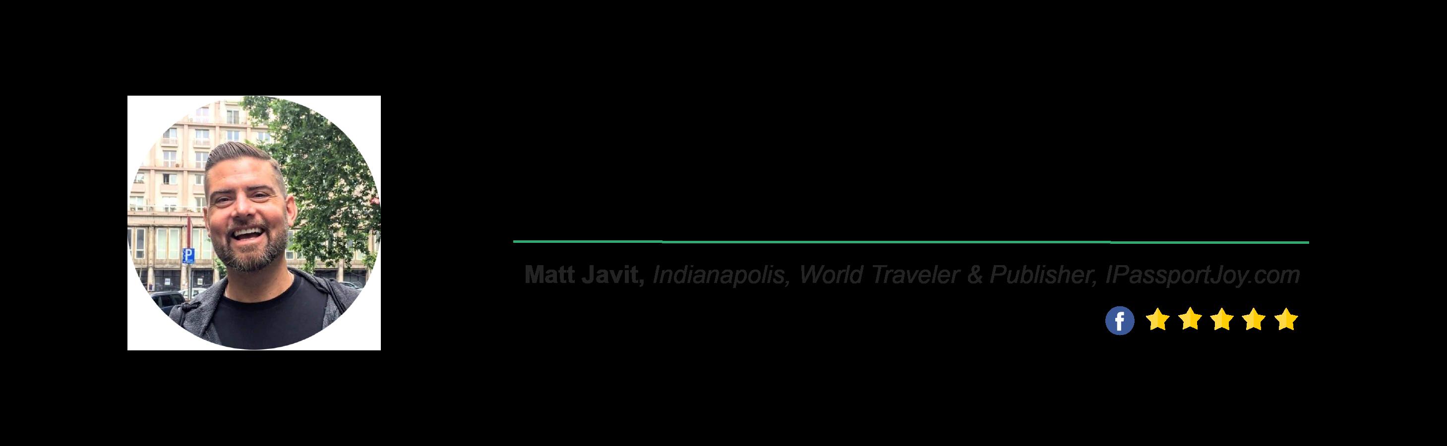 Locus Testimonial - Matt Javit
